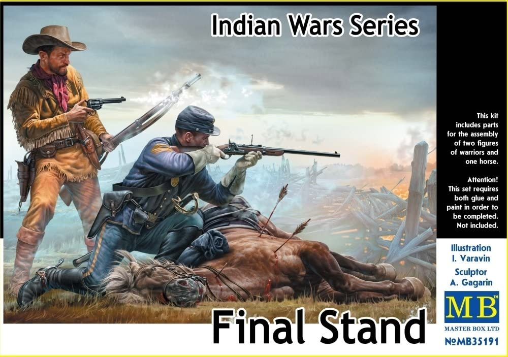 'Master Box mb35191 Figura Final Stand, Indian Wars Series