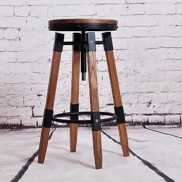 Chaise De Bar Chaises De Bar En Fer Forgé Rétro Américain Fer