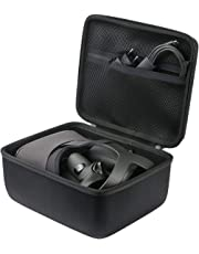 Khanka Hard Travel Case Replacement for Oculus Quest All-in-one VR Gaming Headset (Black)