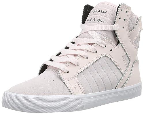 Supra Womens Skytop SW18023 - Zapatillas de Cuero para Mujer, Color Rosa, Talla 36.5: Amazon.es: Zapatos y complementos