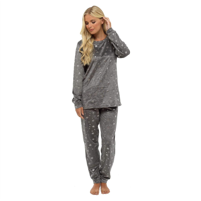 Set pigiama da notte per donna in tessuto stampa animalier, Style It Up