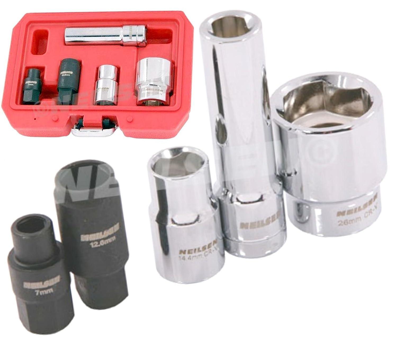 Jeu de douilles de pompe à injection diesel Bosch, ensemble d'outils pour pompe à injection ensemble d'outils pour pompe à injection Neilsen