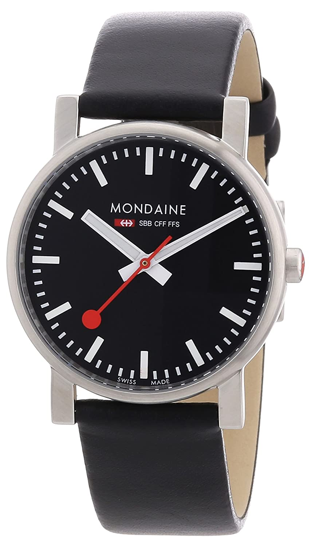 Mondaine Herren-Armbanduhr SBB Evo 35mm Analog Quarz A658.30300.14SBB