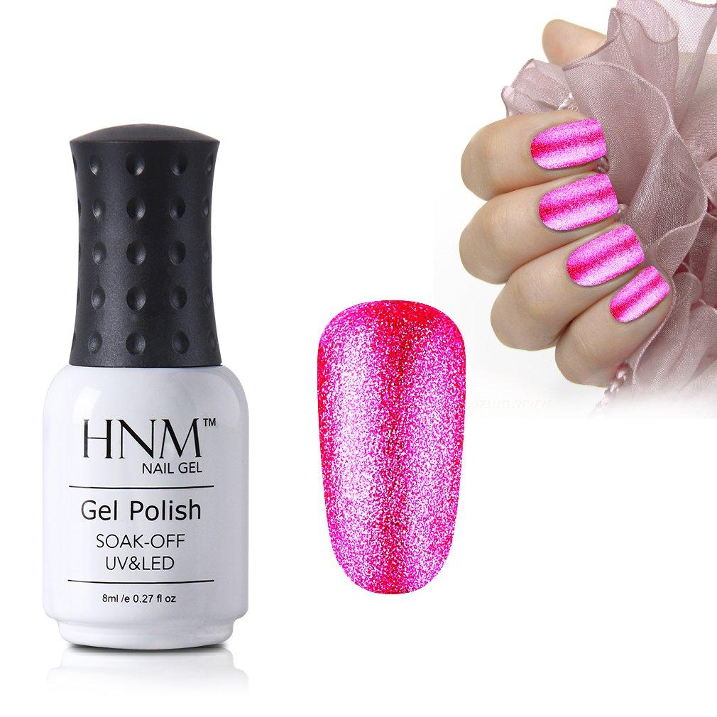 HNM Gel Polish Platinum Colour UV LED Soak Off Nail Varnish Manicure ...