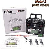 Transmisor Flysky FS-i6X 10CH 2.4GHz AFHDS RC con receptor FS-iA10B