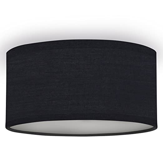Plafón Mia 6000.533 de Ranex, 20 cm, Negro