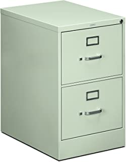 product image for The HON Company 510 Series Full-Suspension Legal 2-Drawer Filing Cabinet, Light Gray