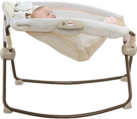 Baby Schommel Bed.Amazon Com Fisher Price Deluxe Rock N Play Sleeper Snugapuppy