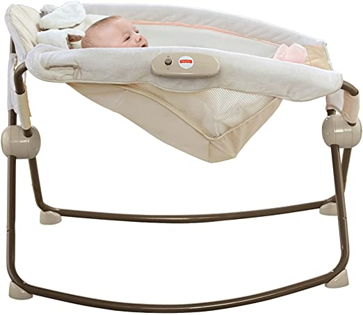 Fisher-Price My Little Snugapuppy Deluxe Newborn Rock N Play Sleeper by Fisher-Price: Amazon.es: Bebé