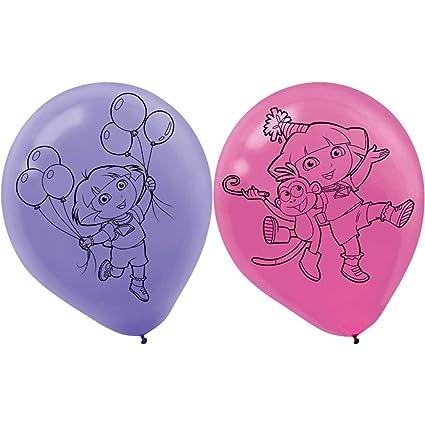 """Dora the Explorer Plastic Tablecloth 84/"""" x 54/"""""""