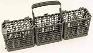 OEM LG Dishwasher Silverware Basket Bin for LDF6810BB, LDF6810ST, LDF6810WW, LDF6920BB, LDF6920ST