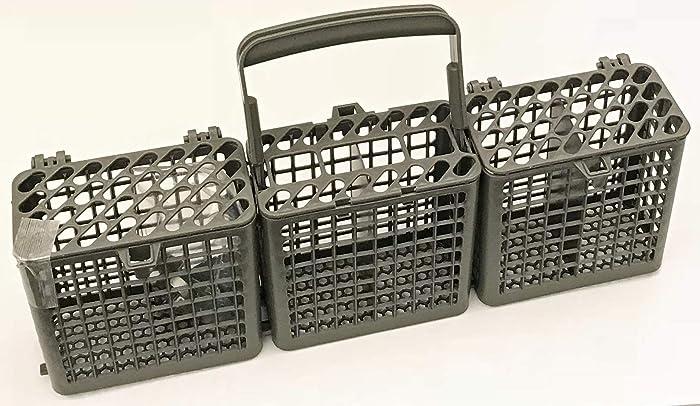 OEM LG Dishwasher Silverware Basket Bin for LDF7932BB, LDF7932ST, LDF7932WW, LDF8072ST, LDF8764ST