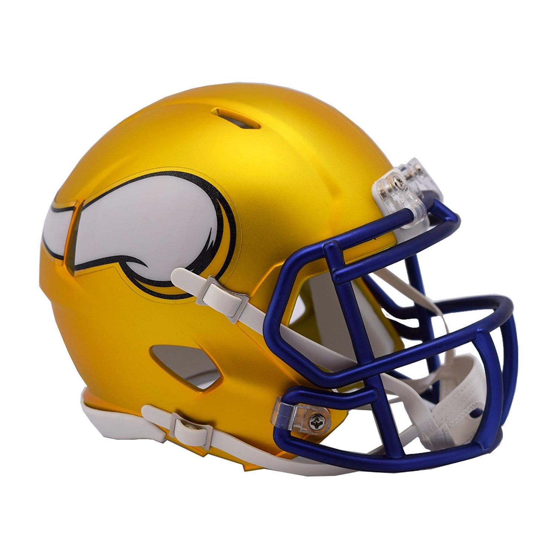 NFL Minnesota Vikings Alternate Blaze Speed Mini Helmet by Riddell