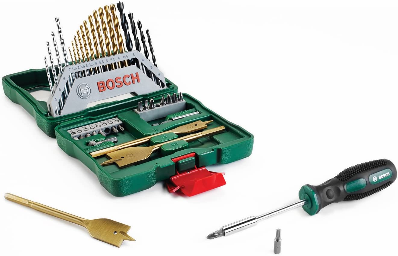 Bosch Home and Garden Bosch 2607017334/X-Line titane Lot , 40