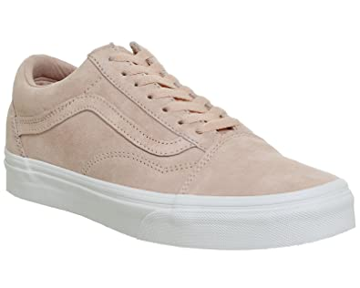 6dab6eedfa9b23 Vans Shoes – Old Skool (Pig Suede) Pink White Size  43  Amazon.com ...