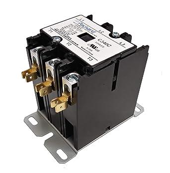 Definite Purpose Contactor 24VAC Coil Volts 40 Full Load Amps-Ind !71C!