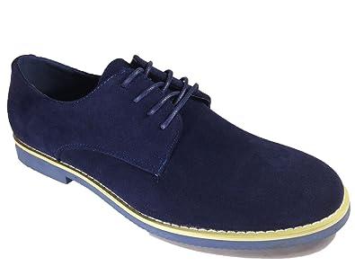 35b9dfc3a730c3 Image Unavailable. Image not available for. Color: Men's Suede Dress Buck Oxfords  Lace Up Shoes ...