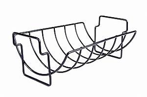 Charcoal Companion Non-Stick Reversible Roasting / Rib Rack - CC3001