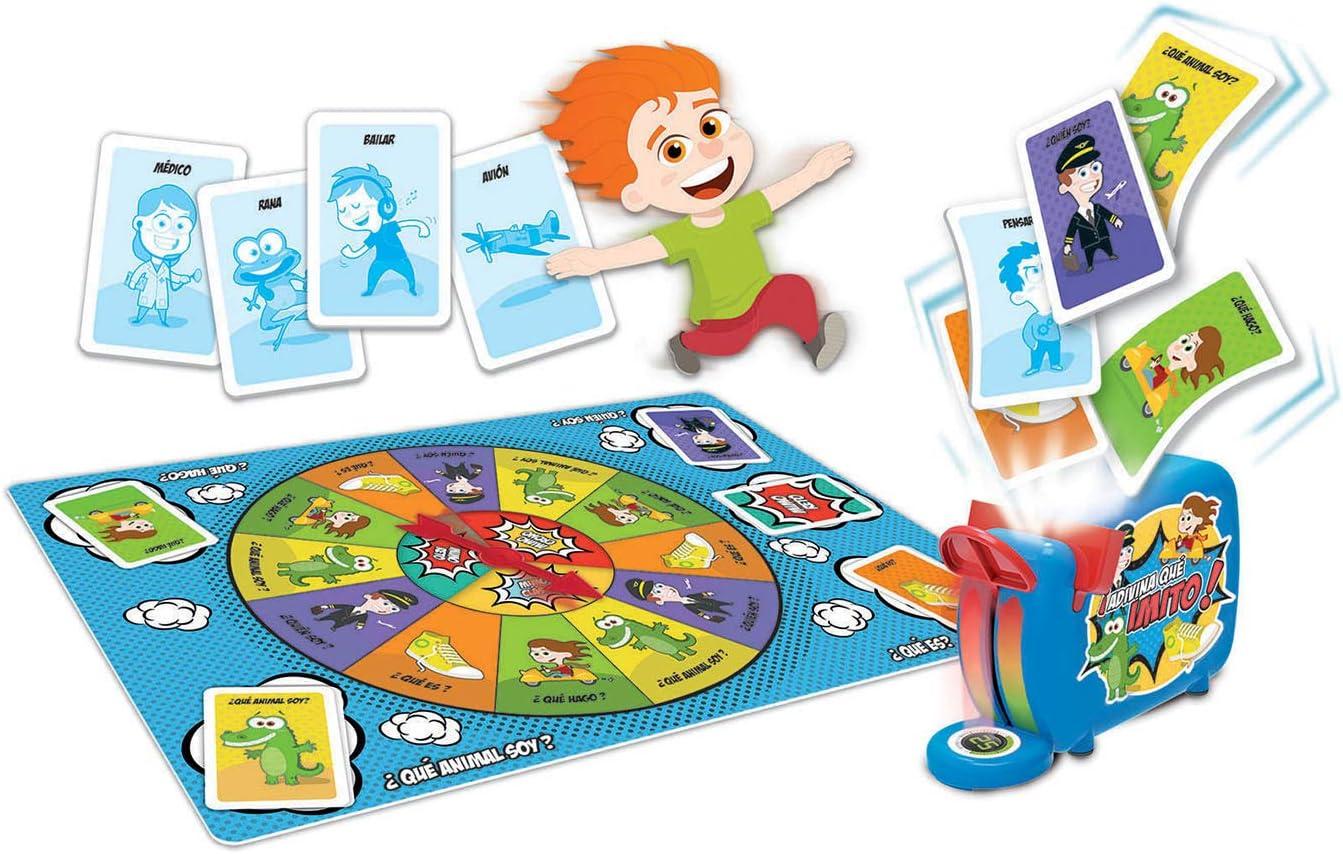 Educa- Adivina Que Imito Juego de Mesa Familiar de mímica, a Partir de 6 años, Color Variado (16987): Amazon.es: Juguetes y juegos