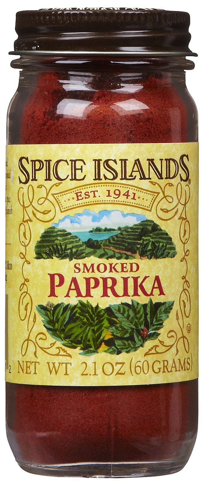 Spice Islands Paprika, Smoked, 2.1-Ounce (Pack of 3)