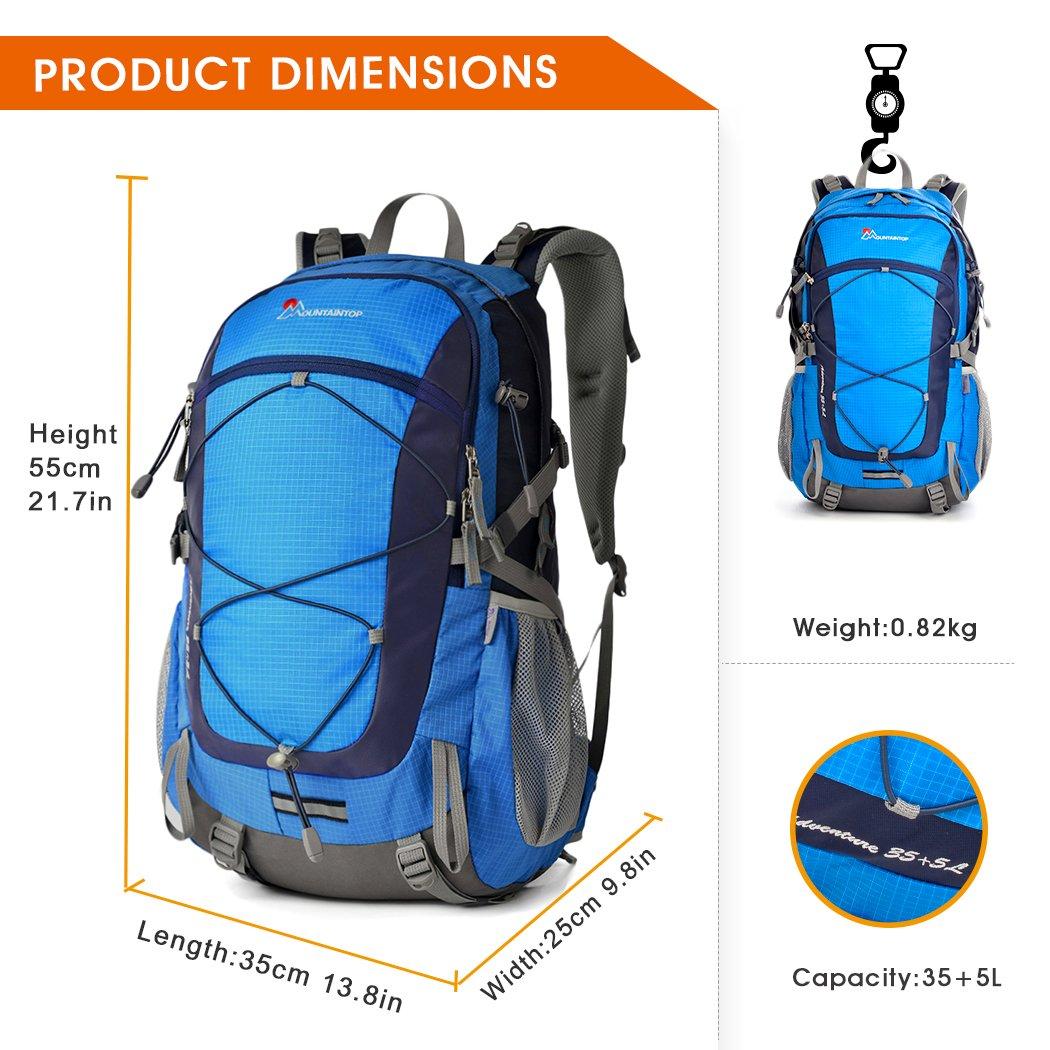 waterproof backpack dimension