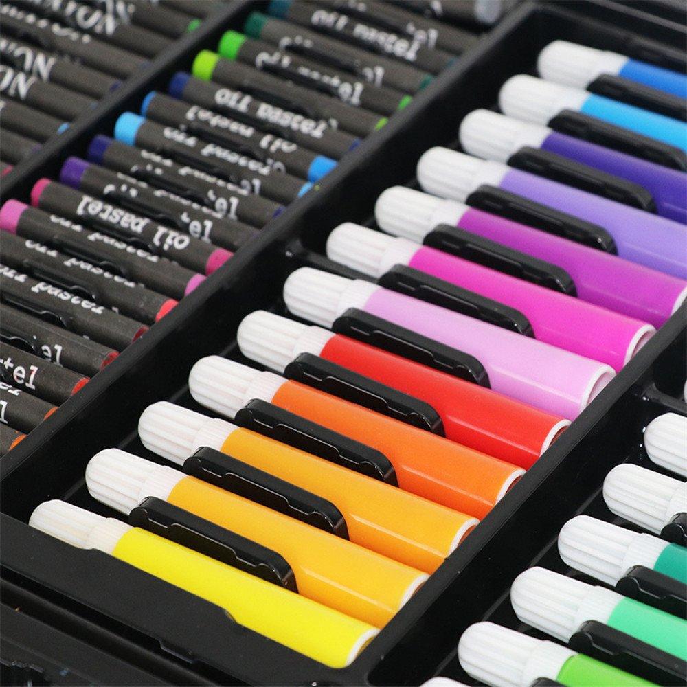 Yishishi Yishishi Yishishi Premium Malset Sketch Deluxe Art Box Set - Kunst und Handwerk in Einer Holzkiste zum Malen und Malen, 168 Teile, mehrere Farben Multi farbige Kunst-Zeichnungs-Bleistifte in den h B07Q79JZWN | Neue Sorten werden eingeführt  7f959f