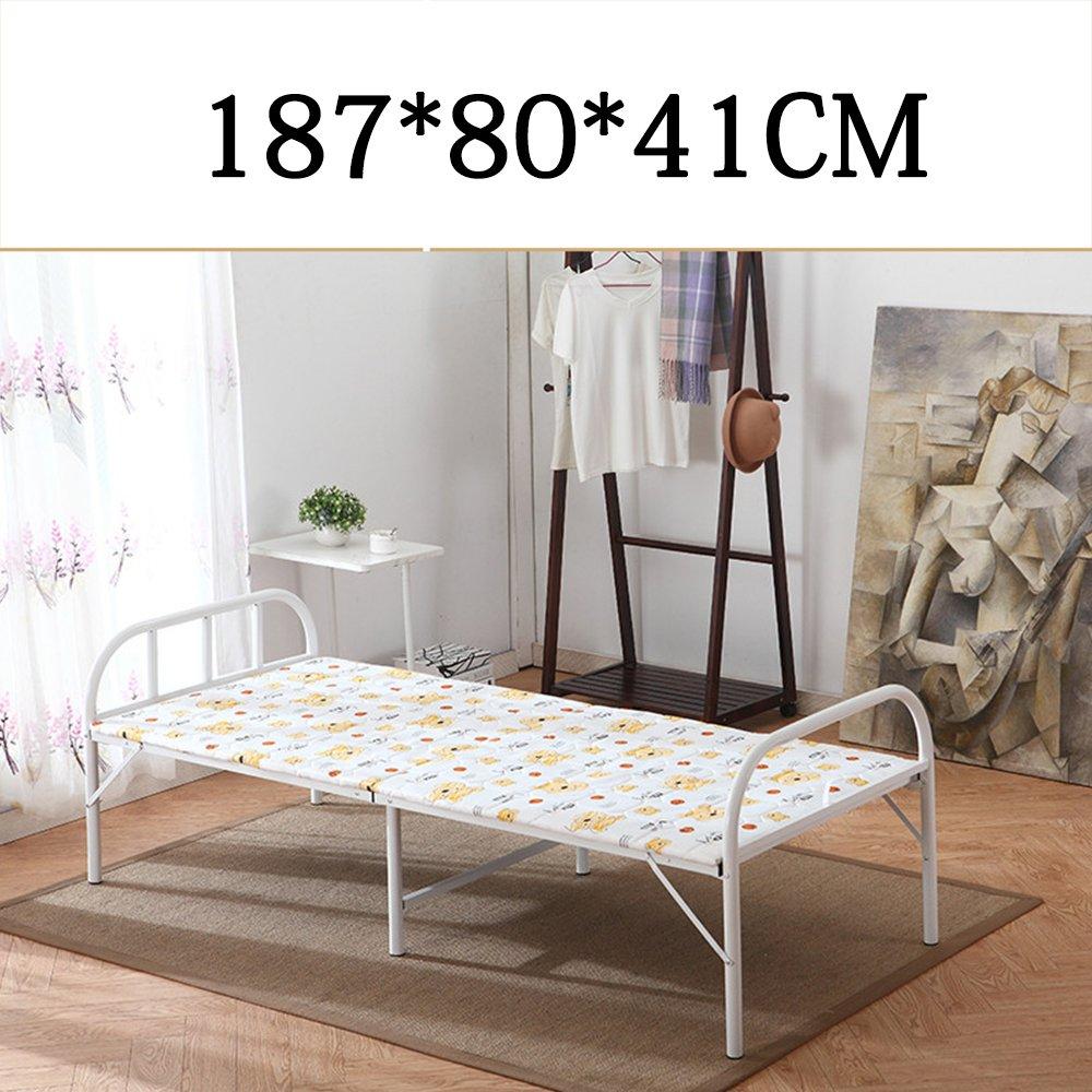 Home & Style Karikatur Campingbett Feldbett max. statische Belastung 250 kg 187 x 80 x 41 cm