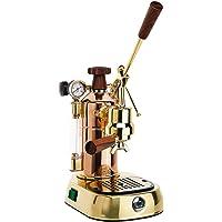 La Pavoni Professional PRG freistehend halbautomatisch Maschine Espresso 1.6L 16tazas Gold–Espressomaschine (freistehend, Maschine, 1,6l, gemahlener Kaffee, 1000W, Gold)