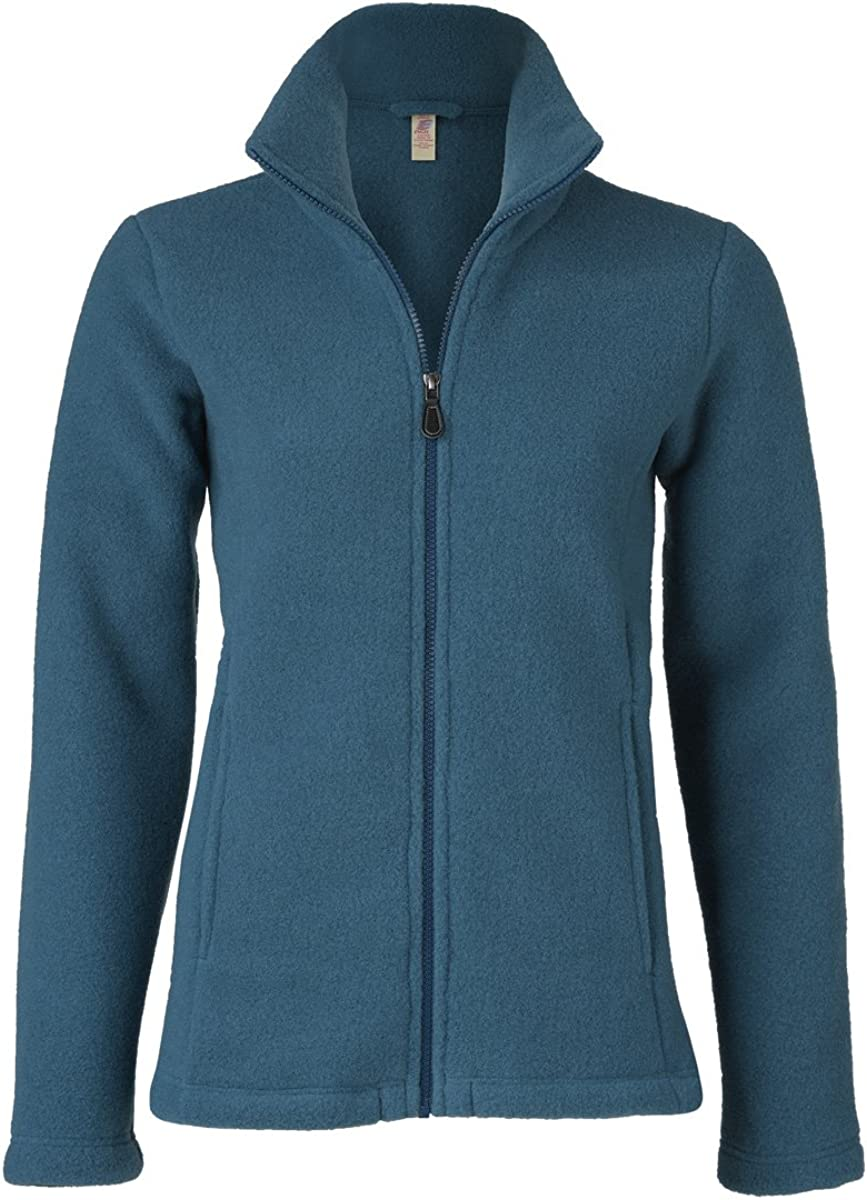 Engel Women S Merino Wool Fleece Jacket Amazon Co Uk Clothing