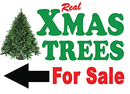 Christmas Arrow Signs.Christmas Xmas Trees For Sale Signs A1 Arrow Left Amazon