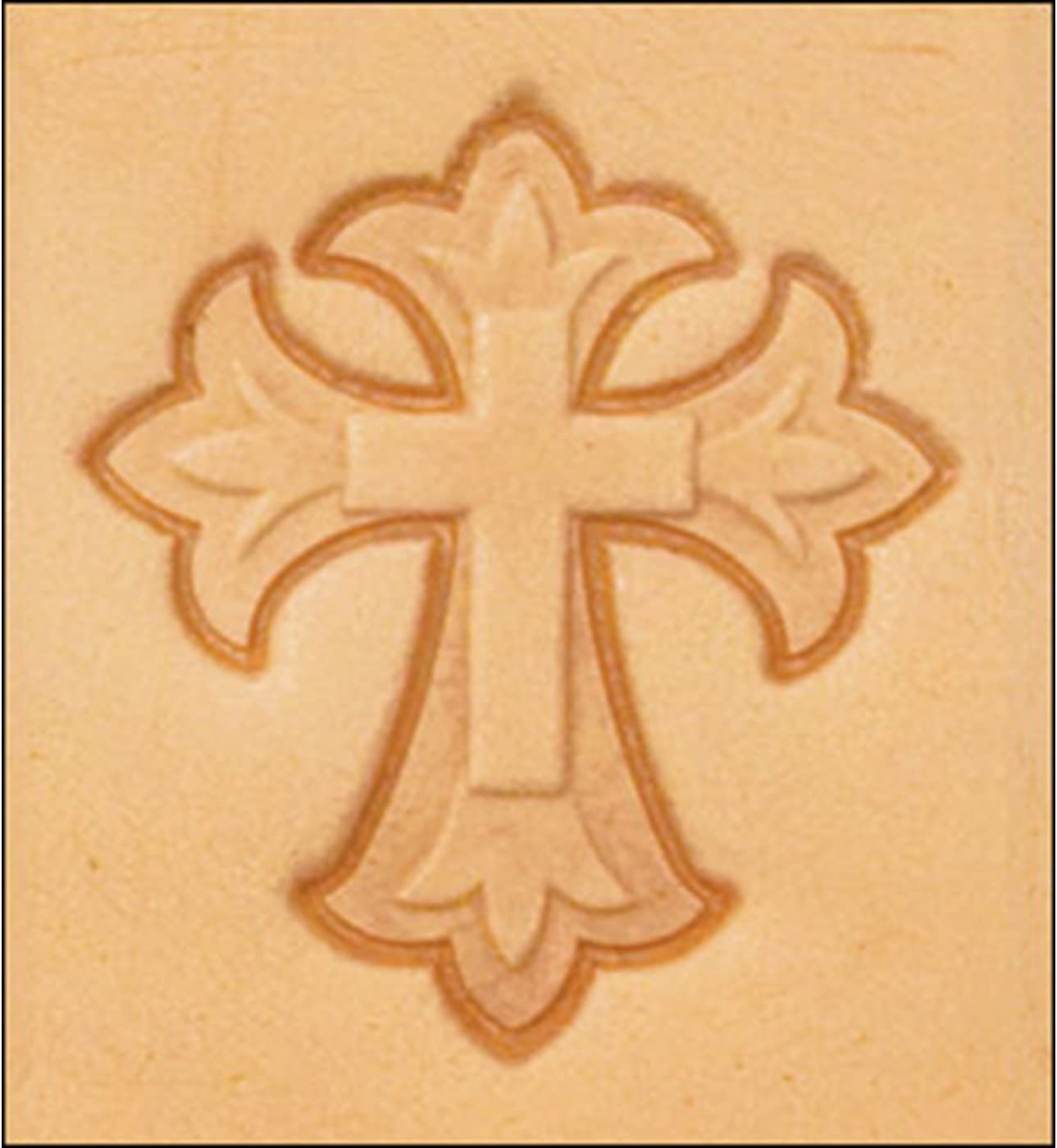 3-D Cross Leathercraft Stamp 8614-00