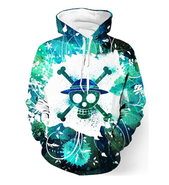 Skull Hoodie Hoodies Men Hip Hop Pullover Sweatshirts Sweat Homme 3D Hoody Tops
