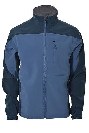 Kirkland Men Softshell Windproof Waterproof Jacket (Medium Blue