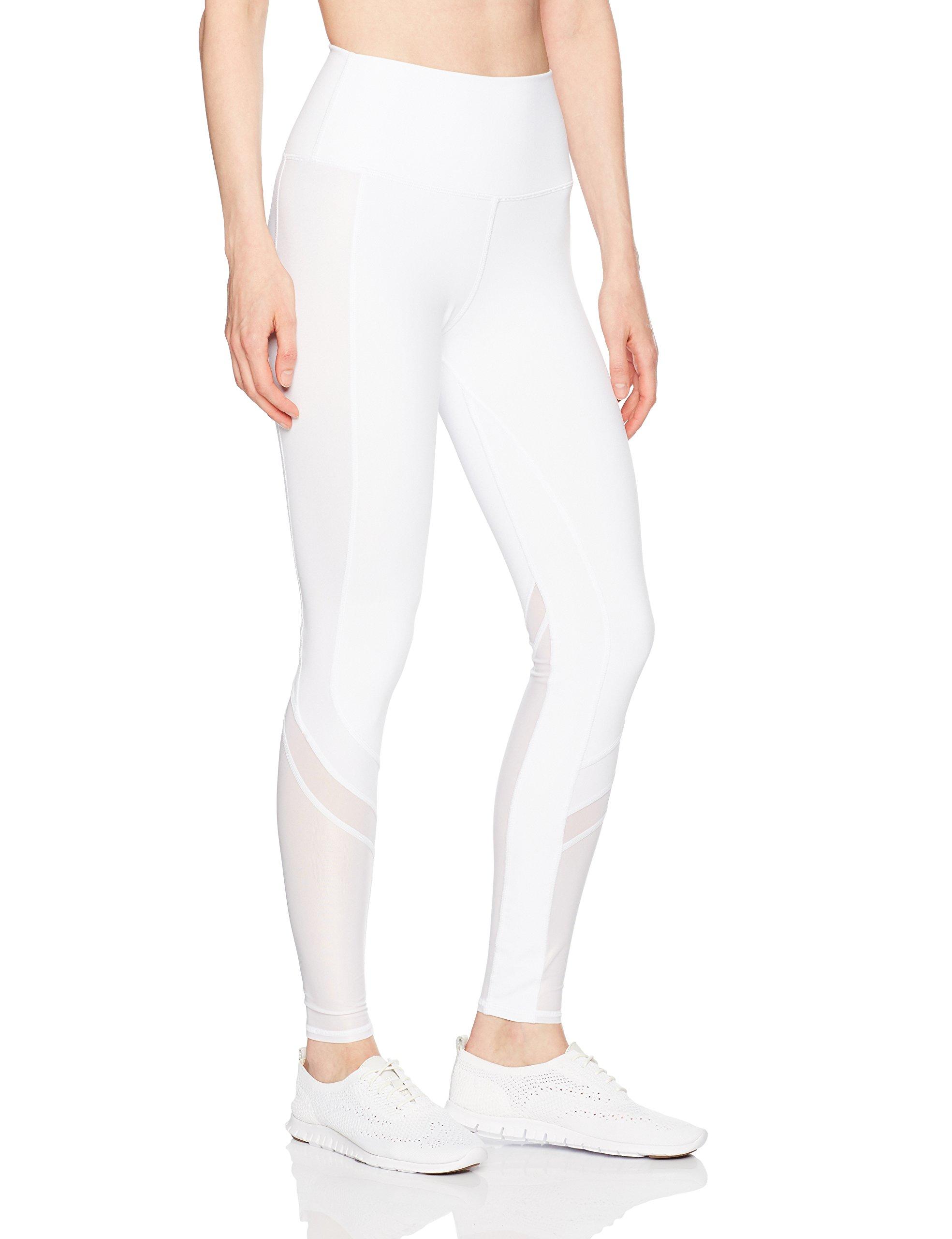 Alo Yoga Women's Elevate Legging, White, S