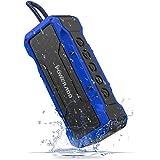 POWERADD Altoparlante Bluetooth Wireless Speaker Portatile con Alte Prestazioni Sonore con Audio HD 36W, Casse Portatile IPX7 a Prova di Urti e Polvere, Aux-in, Perfetto per Utilizzo All'aperto - BLU