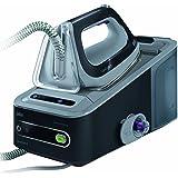 Braun博朗CareStyle 5 IS 5044 压力式蒸汽熨斗,2.400 W, 6,5 bar, 蒸汽量:360 g/分, 自动断电,智能织物防护,Eco模式,黑色/灰色