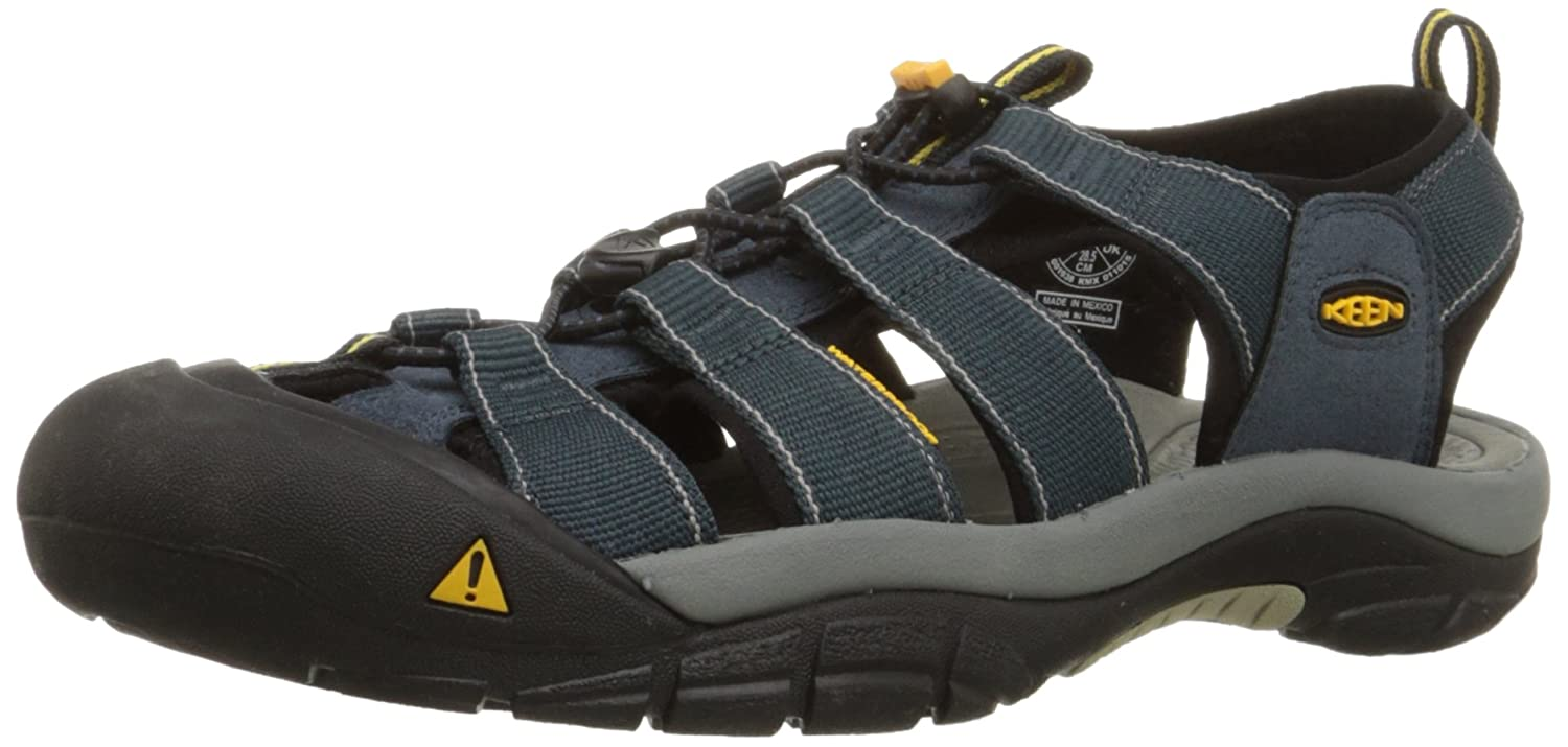 KEEN Men's Newport H2 Sandal B001D9X13A 15 D(M) US|Navy/Medium Grey