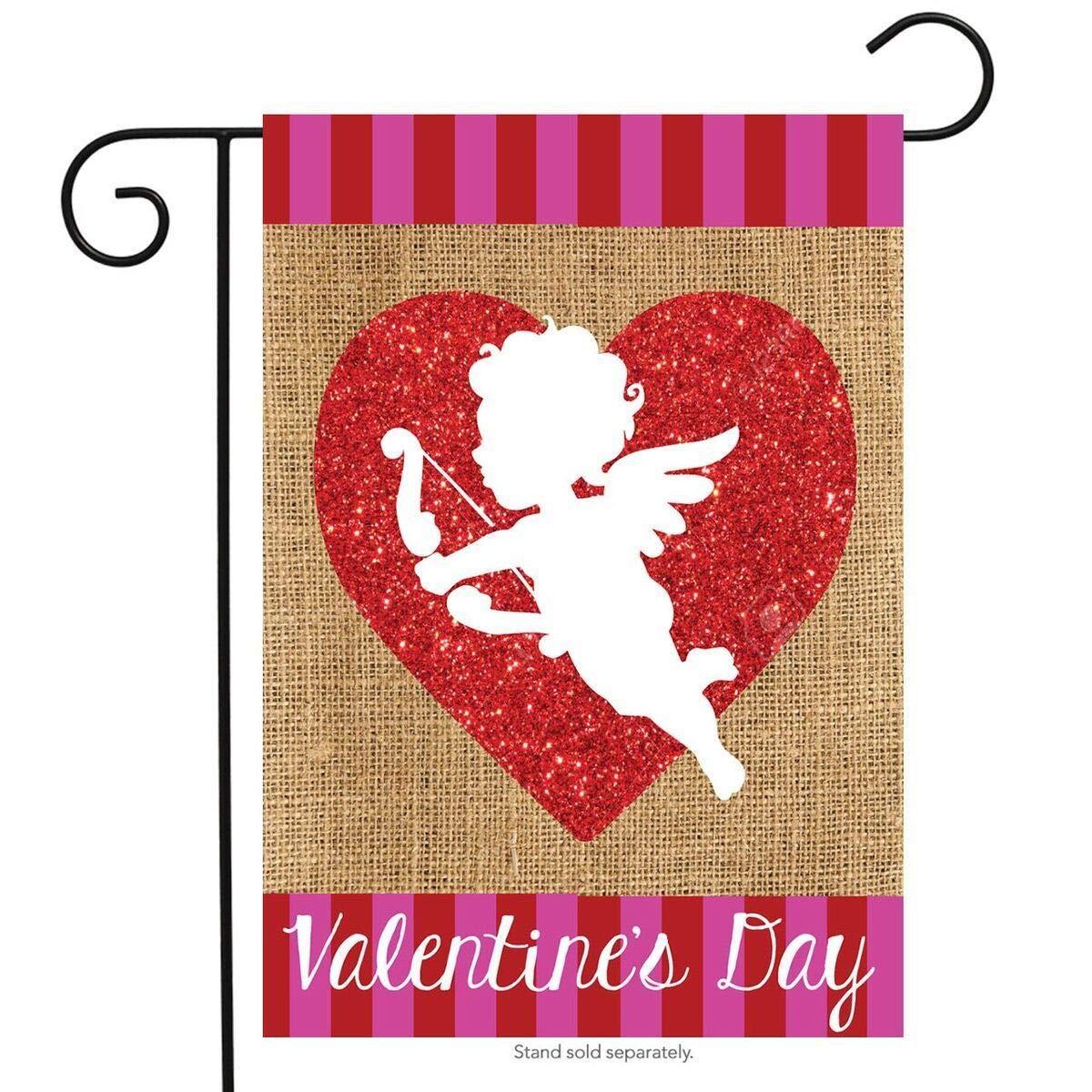 Amazon com : BRAND NEW PAPY, Cupid Burlap Valentine's Day