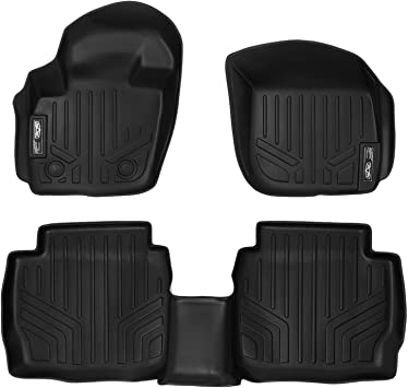 Black MAXLINER A0133 Floor Mats for Ford Fusion//Lincoln MKZ 2013-2017 1st Row Set