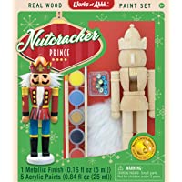 Master Pieces Holiday Wood Paint Kit - Nutcracker Prince