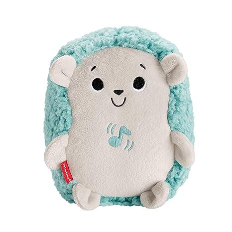 Fisher-Price - Erizo Vibración y Sonidos, Juguete de Cuna y Peluche para Bebé Recién Nacido (Mattel FXC58)