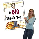 2x3 Giant Thank You Card Big Nose W Envelope