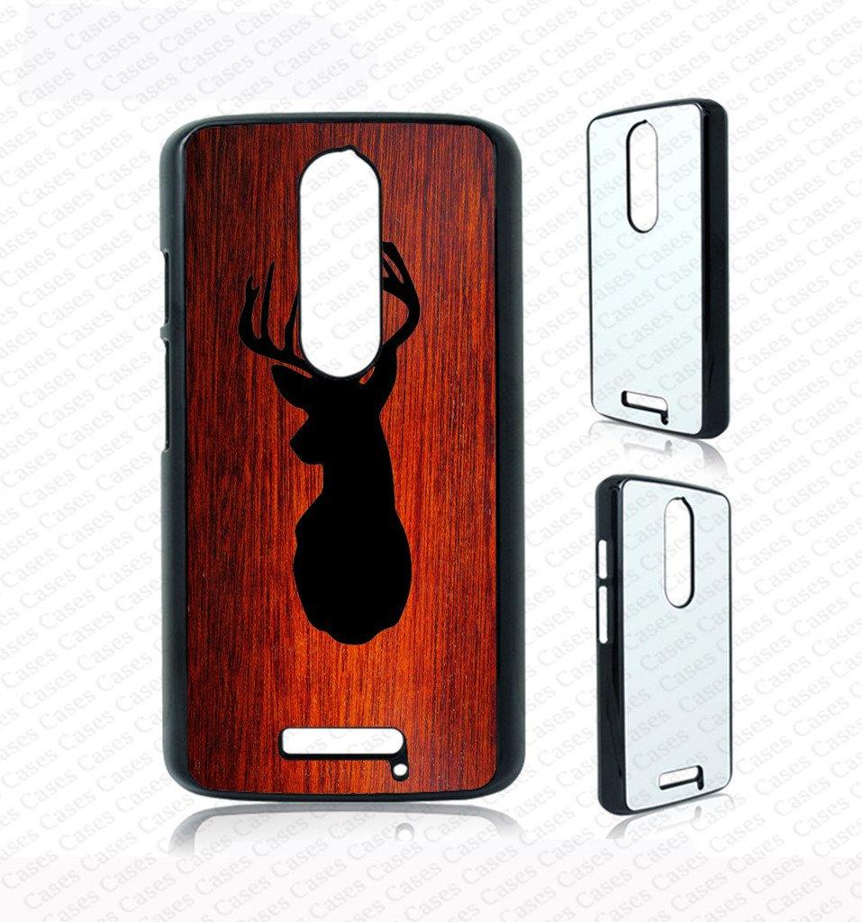 Amazon.com: Krezy Case deer head on wood Moto X3 Case, moto X3 Cover, cute moto X3 Cases, unique moto X3 Case, Moto 3rd generation case (not real wood): ...