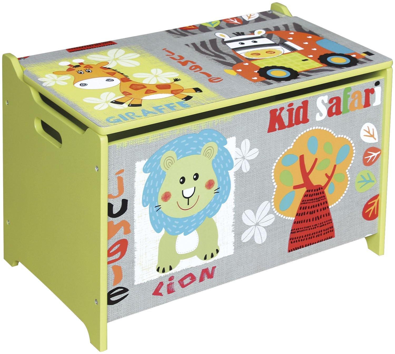 Bieco 74004813–Giocattoli e sella in un, motivo: Safari, ca. 60x 40x 37cm Supa GmbH