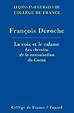 La voix et le calame (Collège de France)