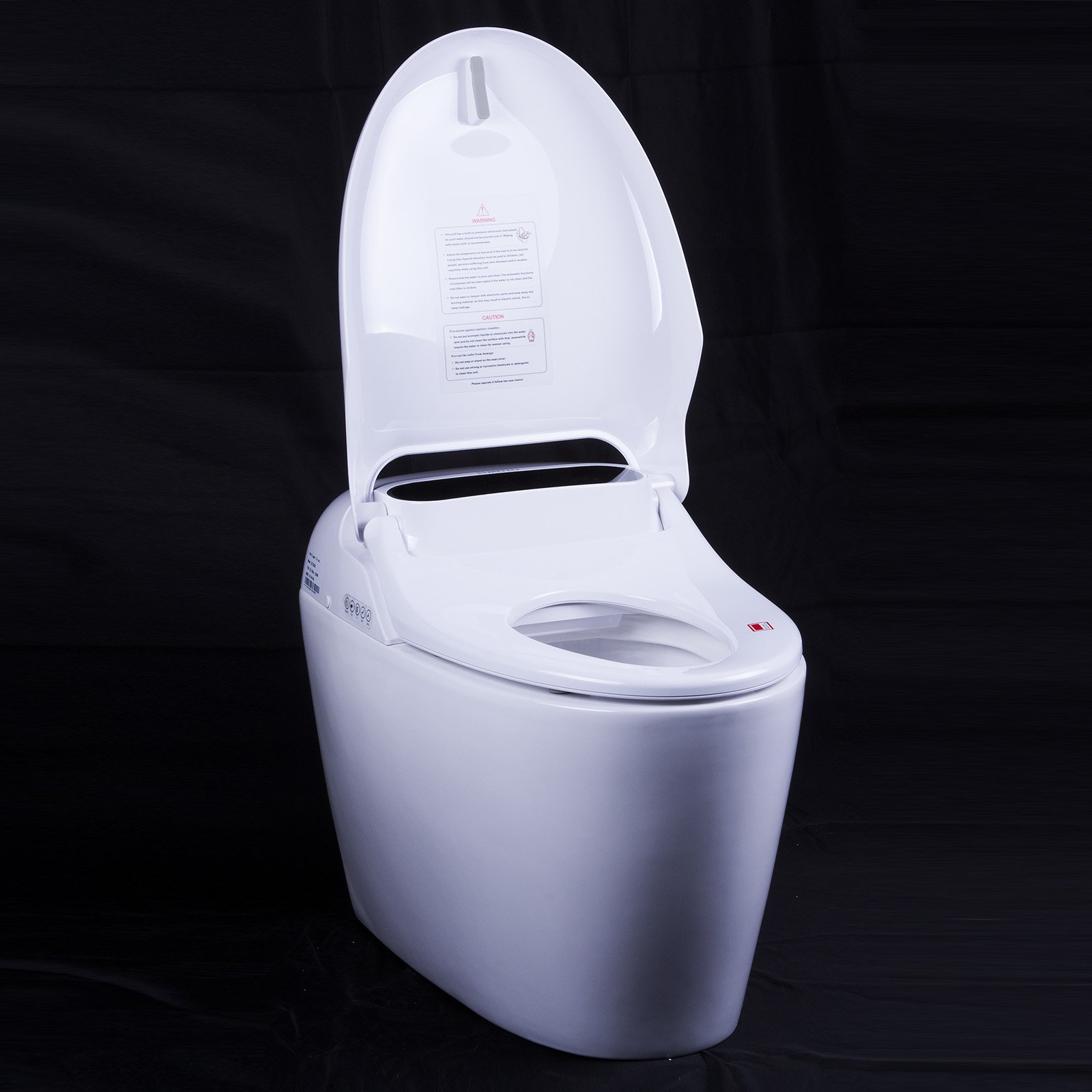 Euroto Luxury Smart Toilet One Piece Toilet with Soft Closing Heated Seat European Design Elongated for Bathroom Toilet Bowls, Toilets, and Toilet Seats by EUROTO (Image #5)
