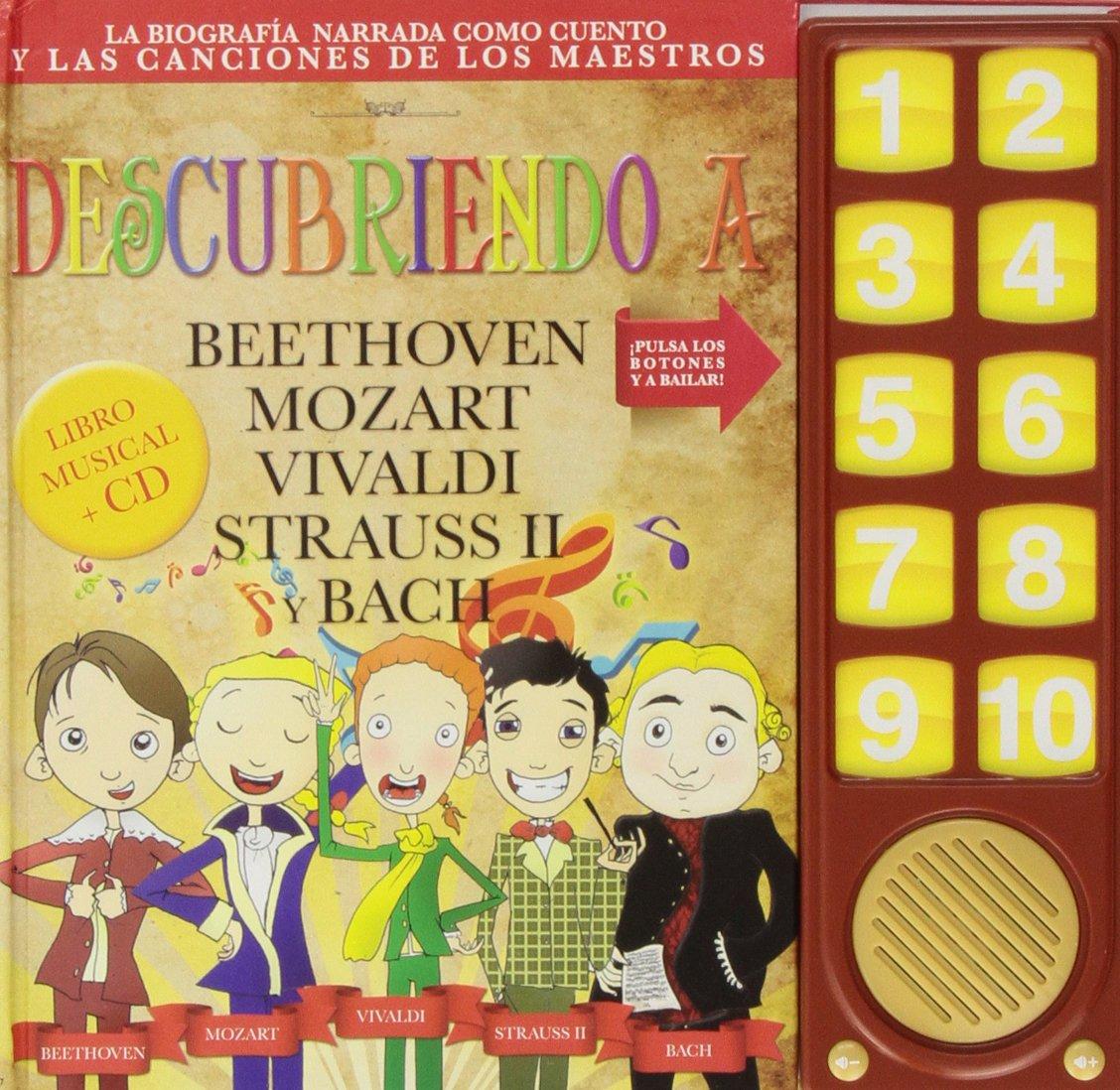 Descubriendo la Musica Clasica: Amazon.es: Beethoven, Mozart, Vivaldi, Strauss, Bach: Libros