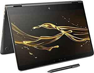 Newest HP Spectre x360-15t Quad Core(8th Gen. Intel i7-8550U, 16GB DDR4, 1 TB PCIe NVMe SSD, 4K 3840x2160, NVIDIA GeForce GDDR5) Bang & Olufsen 15.6' 2-in-1 Convertible Stylus (Renewed)
