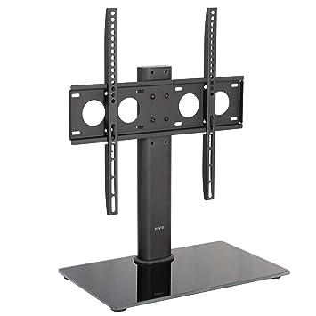 Vivo Universal económico LCD TV de pantalla soporte de mesa soporte para w/Base de cristal: Amazon.es: Electrónica
