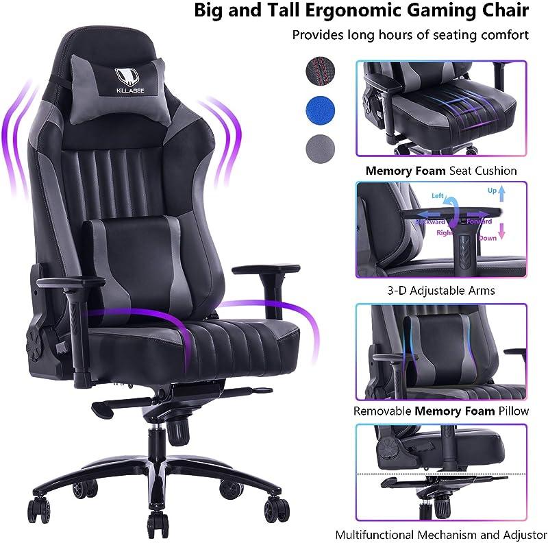 Von Racer Memory Foam Gaming Chair
